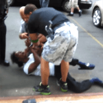 "Cops Beat Man in Streets After ""Illegal U-Turn"""
