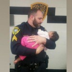 West Virginia Cop Cares For Baby He Rescued From Grocery Store Bathroom