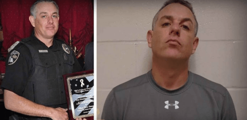Highly Decorated Officer Arrested